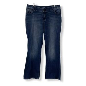 Lane Bryant Distinctly Boot Bootcut Jeans 16 Tall